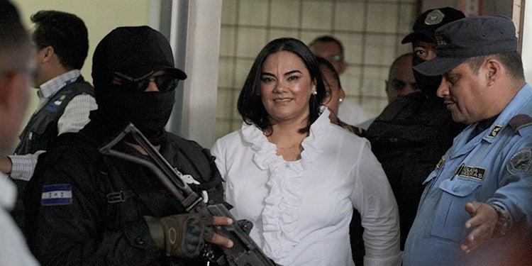 Niegan apelación del MP contra excarcelación de Rosa Elena de Lobo
