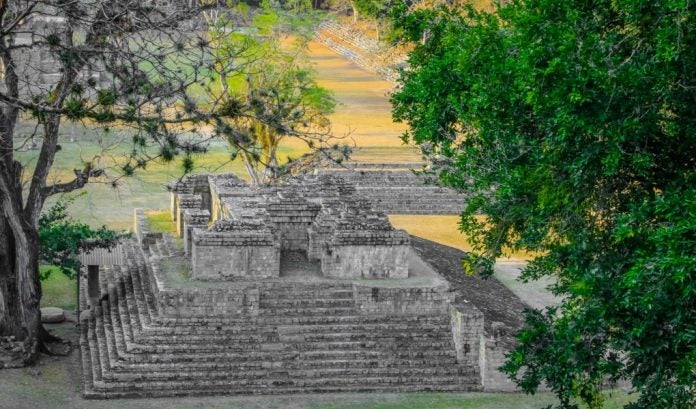 Sitio Maya de Copán