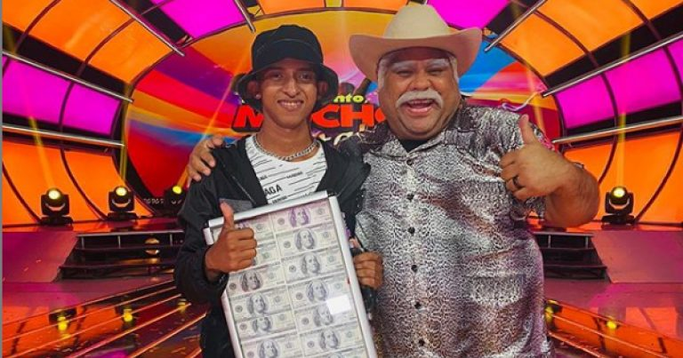 """""""Rude Boy"""" gana premio de $100 mil en reality """"Tengo Mucho Talento"""""""