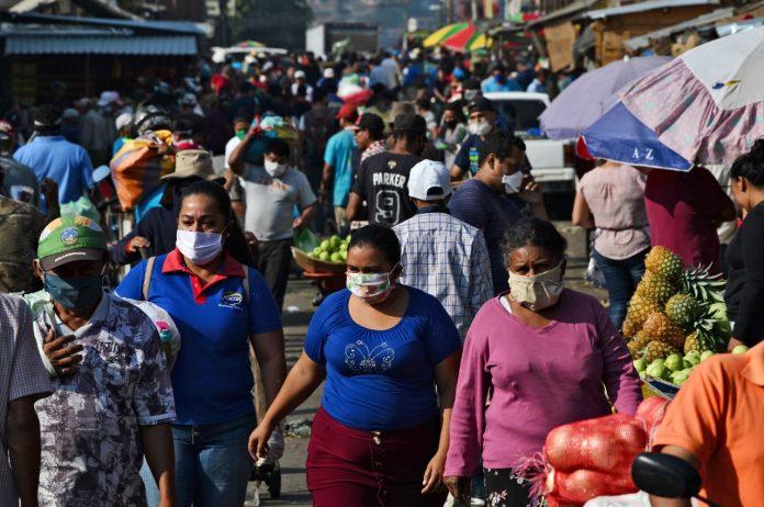 25 mil casos en tegucigalpa