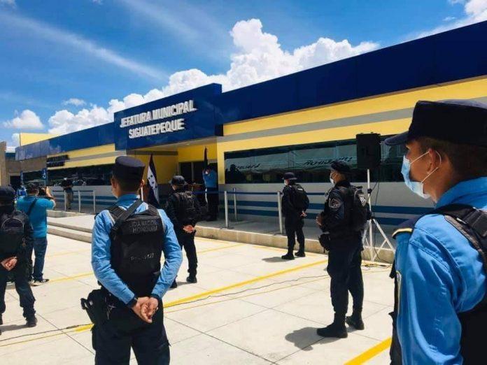 gasto de honduras en sedes policiales