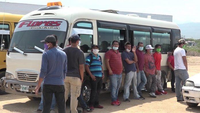 transportistas de Comayagua