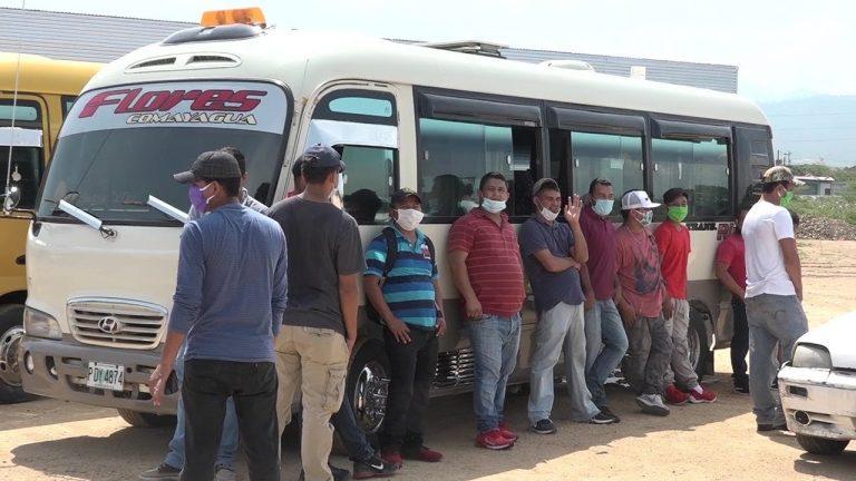 Comayagua: Transportistas trabajarán solo con el 100 % de pasajeros