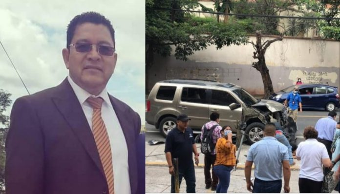 fiscal atropellado en tegucigalpa