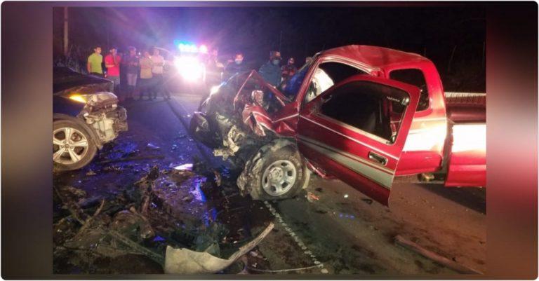 Muere funcionaria judicial en accidente de tránsito en carretera a Olancho