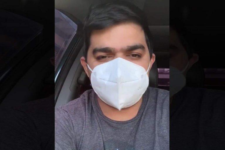 Periodista deportivo Rely Maradiaga muestra mejoras tras contagio de coronavirus