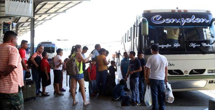 buses funcionando en sps