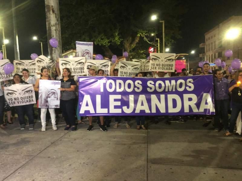Un año violación Alejandra
