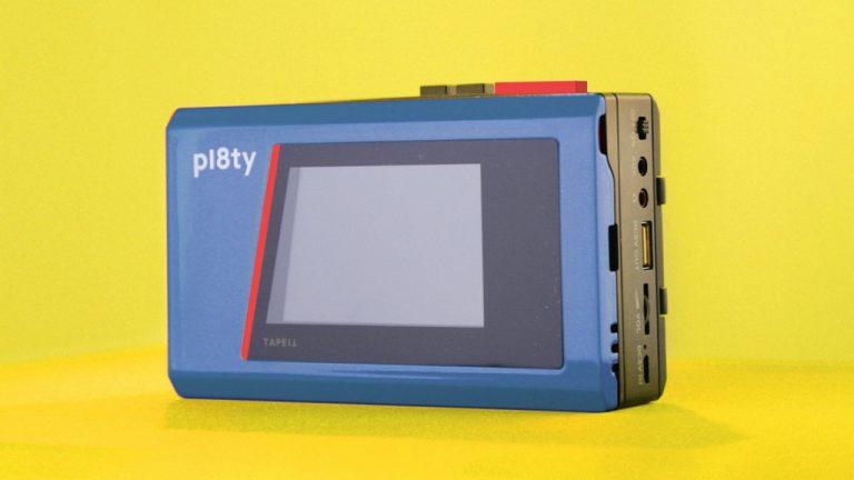 PL8TY: El reproductor que te permite escuchar música al estilo de los 80´s
