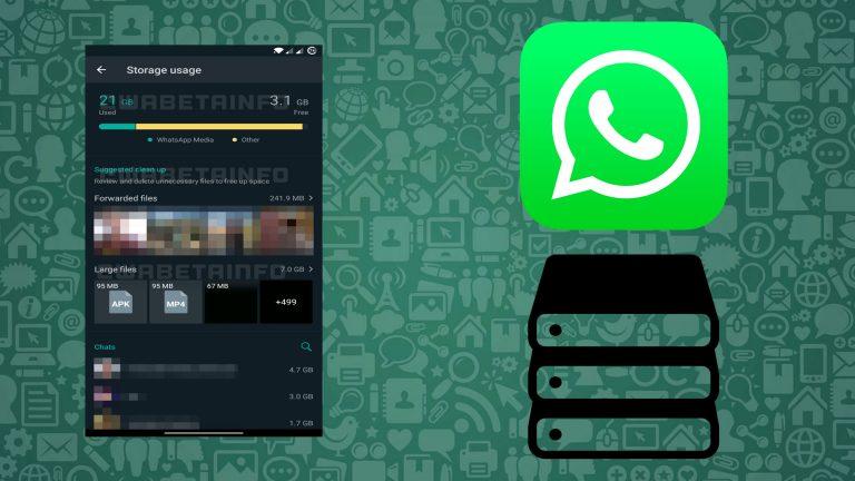 ¡Al fin! Adiós problemas de espacio: WhatsApp alista un gestor de almacenamiento