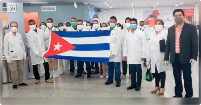 condecoración a brigada cubana