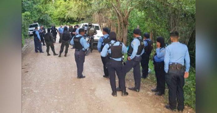 enfrentamiento entre Policías y