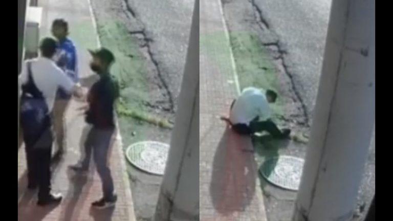 VÍDEO| A plenas 6:30 am, asaltan y matan a guardia en Choluteca