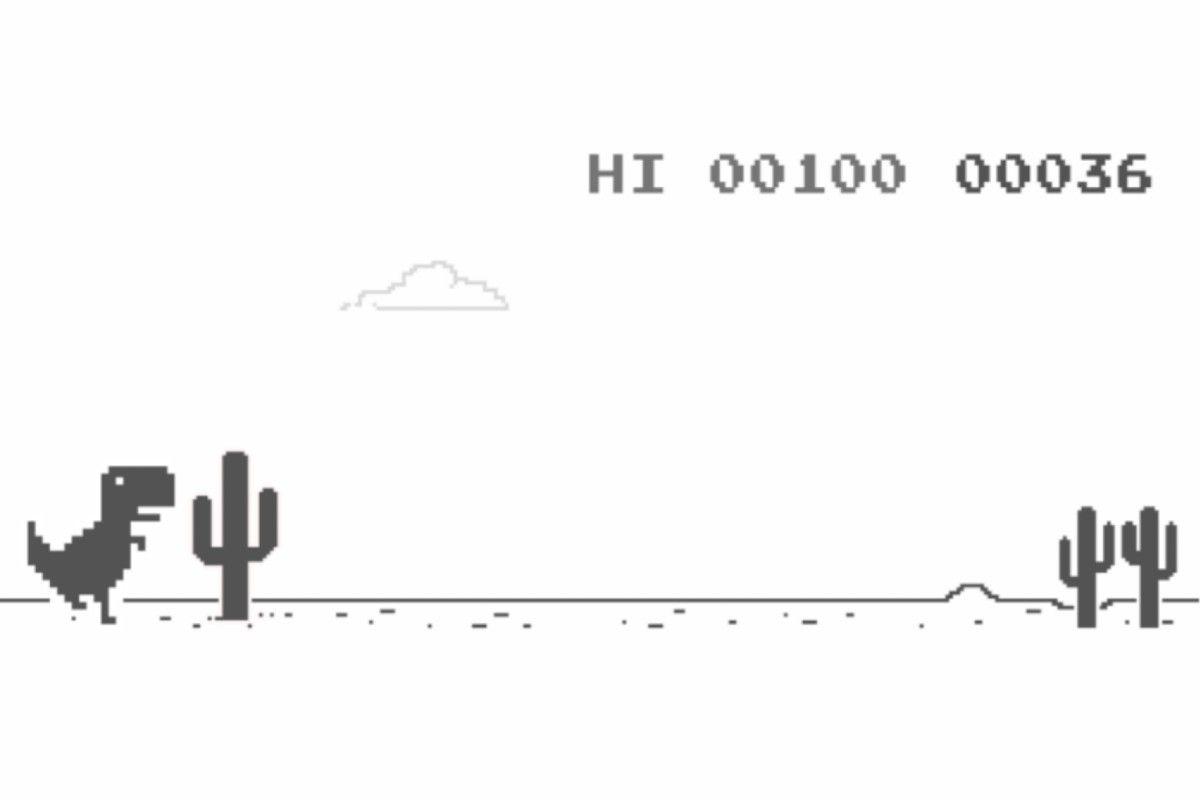 Google Lanza Una Nueva Version Del Popular Jueguito Del Dinosaurio Jugar al dinosaurio de google sin conexión a internet es extremadamente fácil: popular jueguito del dinosaurio