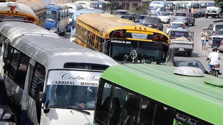 Tegucigalpa: Transportistas solicitan incluir más rutas en pilotaje