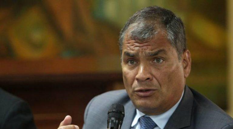 Rafael Correa designado como candidato a vicepresidente de Ecuador