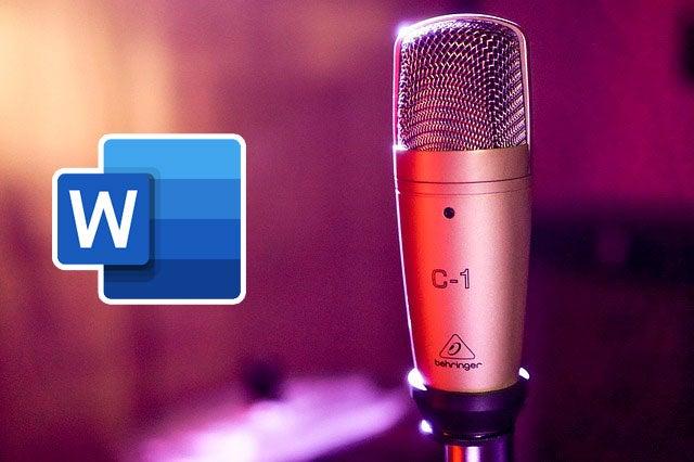 Microsoft Word ahora permite dictar textos y transcribir archivos de audio