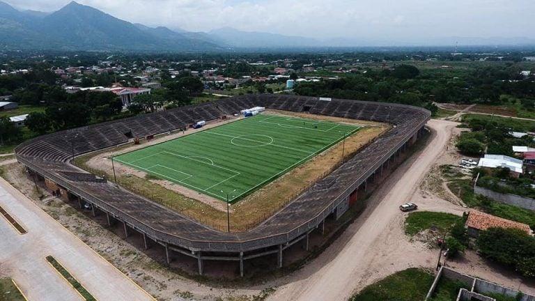 Renovado estadio de La Paz podría ser cancha alterna del Motagua