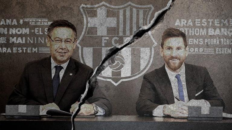 Las palabras de Messi que demuestran su descontento con Bartomeu