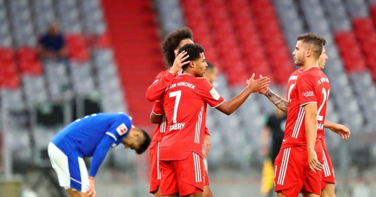 Bayern Múnich llega con un potente 8-0 en el inicio de la Bundesliga