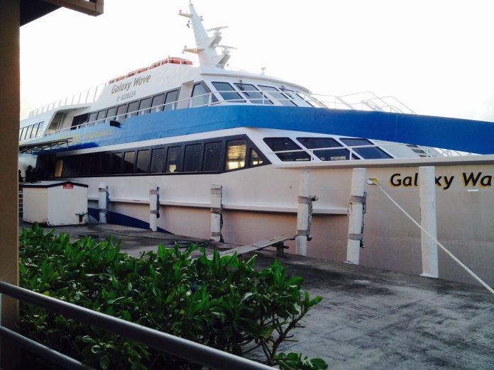 Ferry Galaxy Wave viajes