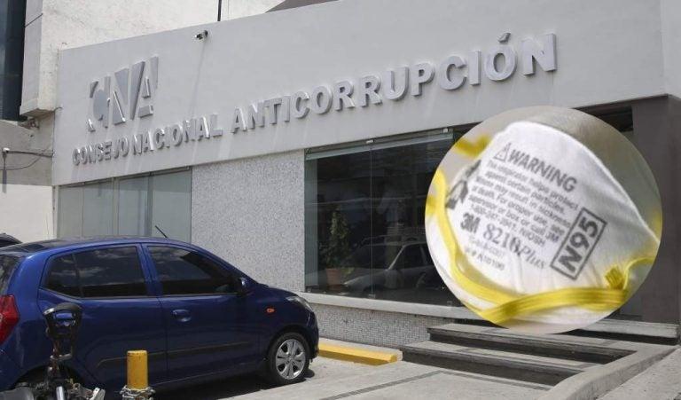 """CNA revela """"movimientos irregulares"""" en compra de mascarillas de INVEST-H"""