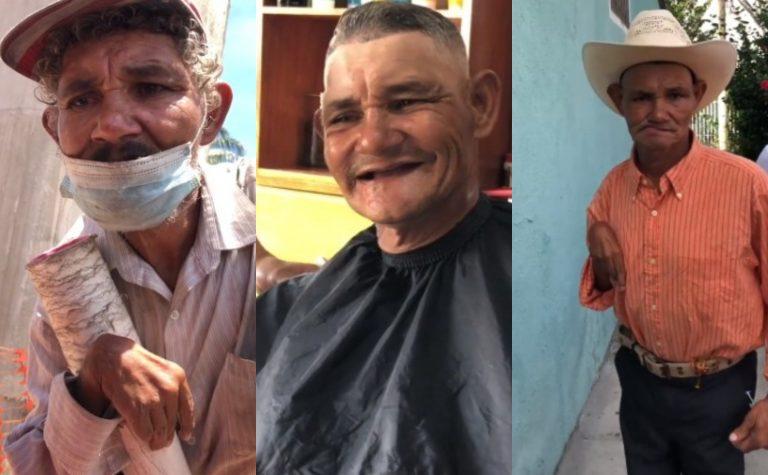 Hondureño alimentó, vistió y mejoró apariencia de un humilde anciano