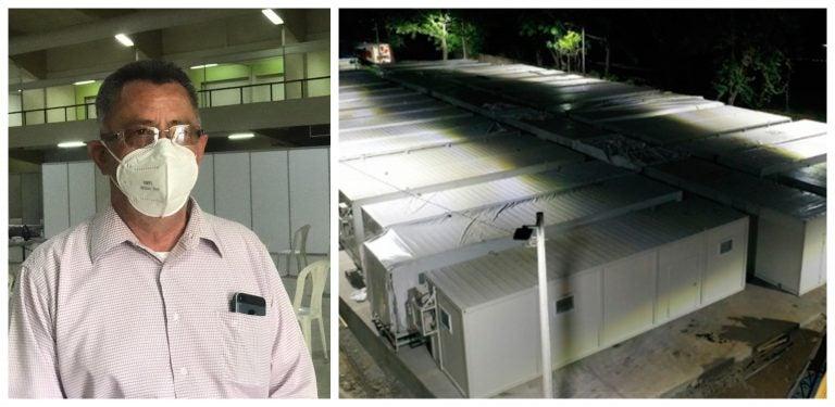 Jananía: Hospital móvil de SPS está incompleto y no puede atender COVID