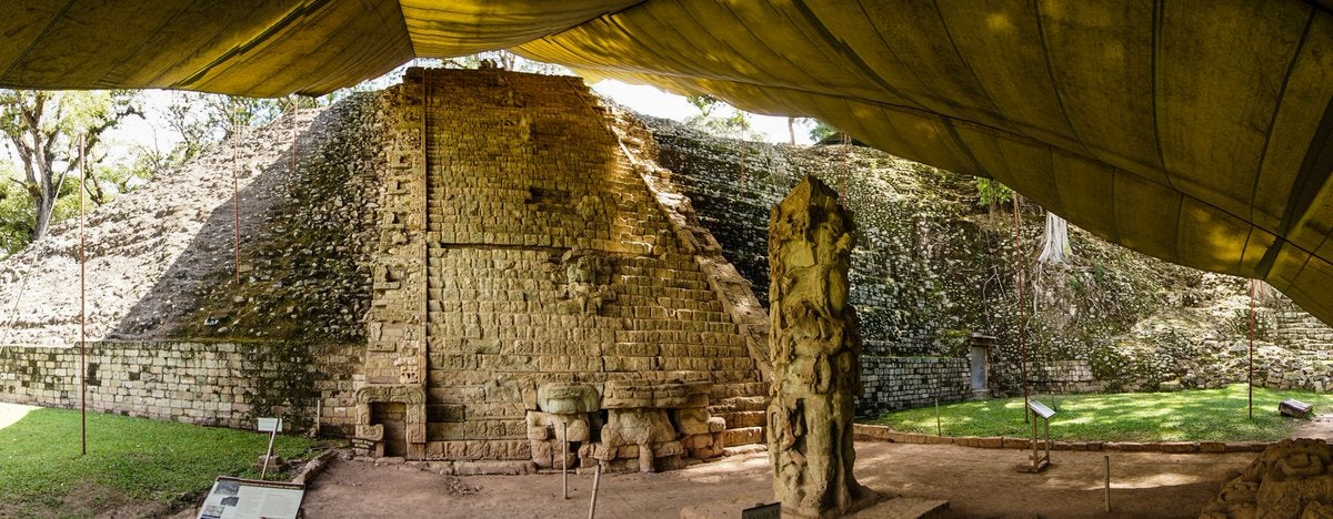 atractivo Copán Ruinas