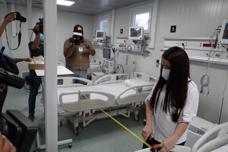 «Paciencia» y 72 horas más piden INVEST-H y Salud para entregar hospital de SPS
