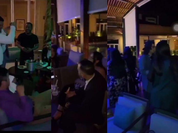 Fiesta de influencers hondureños