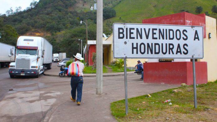 Fronteras de Honduras