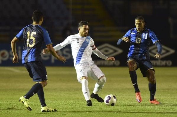 Selección de Guatemala quiere a Honduras para un amistoso