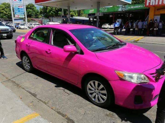 taxis rosa en sps