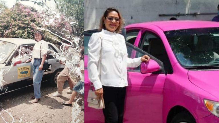 """Doña Emérita: Primer mujer taxista en SPS; """"el machismo no la intimidó"""""""