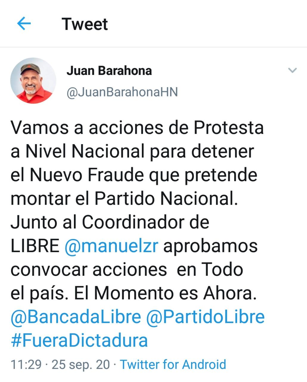 Juan Barahona