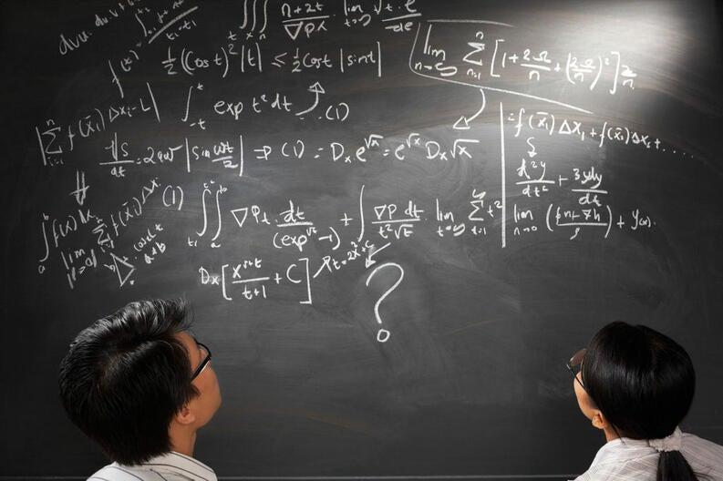 hombres y mujeres en matemáticas