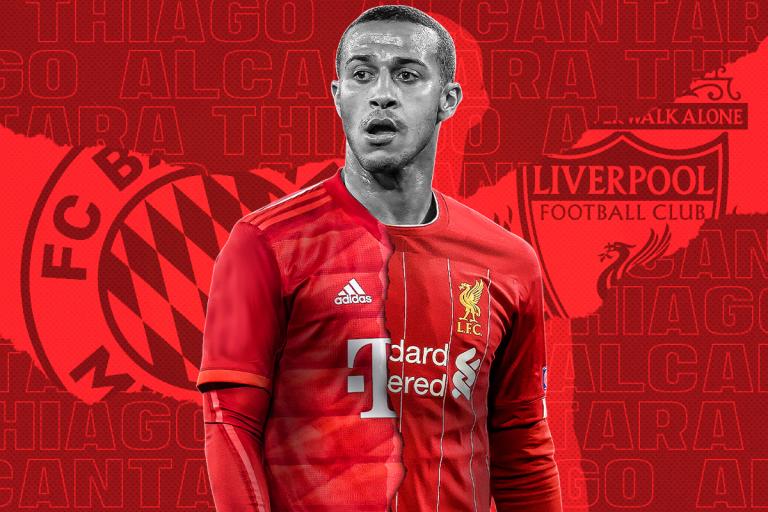 El nuevo competidor que tendrá Liverpool por el fichaje de Thiago
