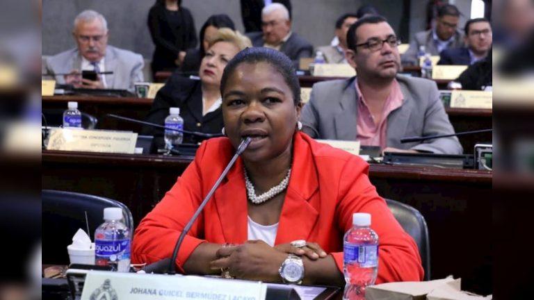 Diputada del PN, Johana Bermúdez, responde a «¿Dónde está el dinero?»