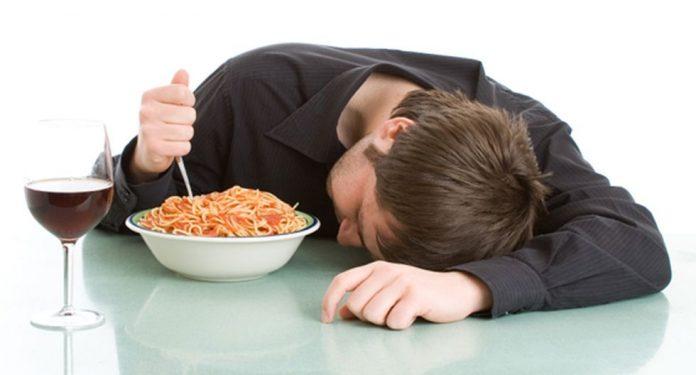 sueño almorzar