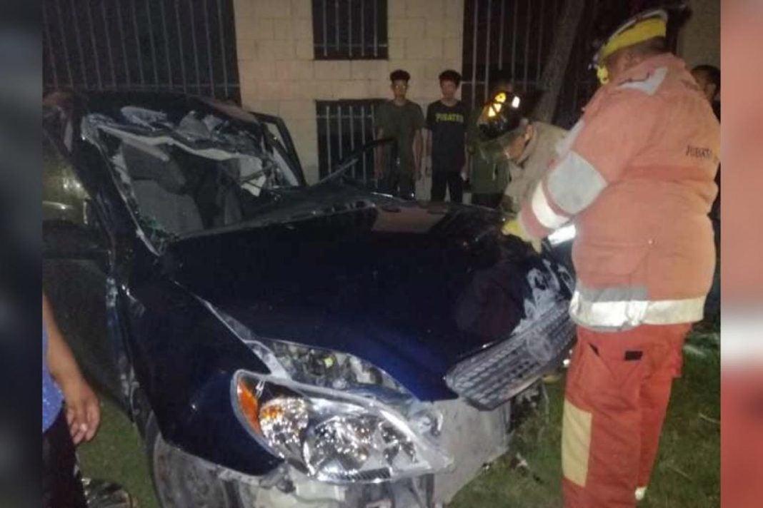 Accidente de tránsito Puerto Cortés