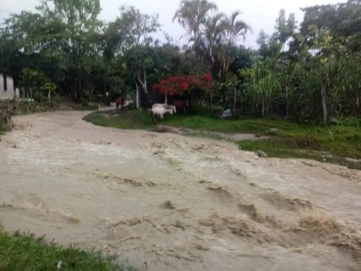 fuertes lluvias en siguatepeque