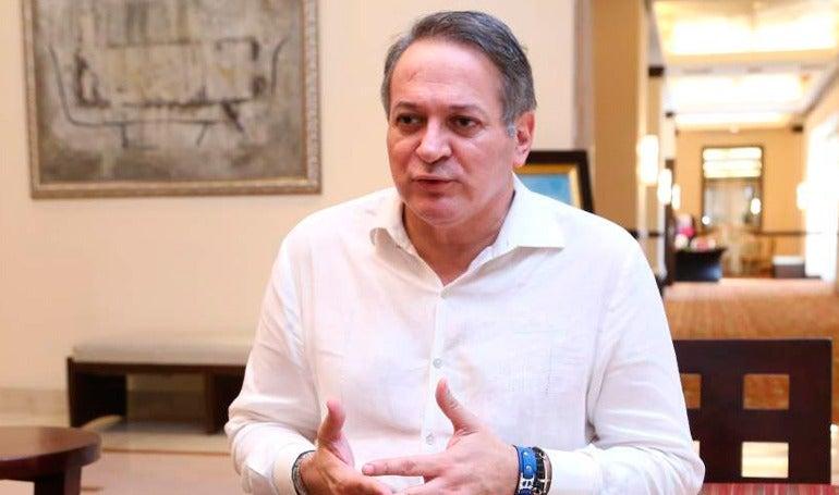 Pre candidato presidencial del Partido Liberal, José Luis Moncada.