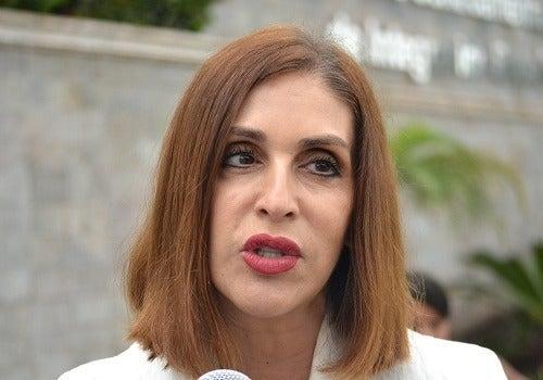La exdiputada Marcia Facussé.