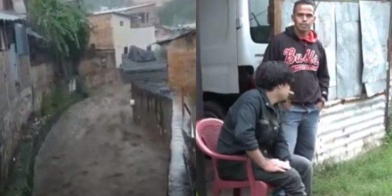 Señora muere al ser arrastrada por fuerte corriente de agua en Tegucigalpa