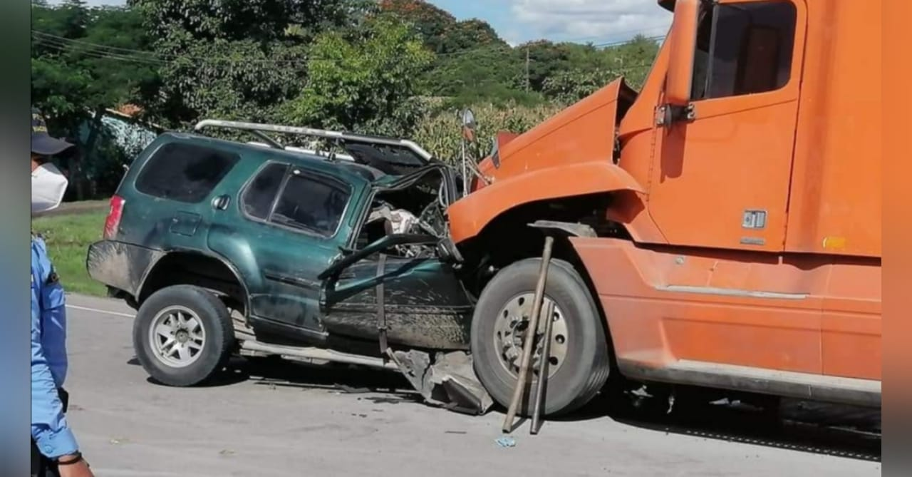 accidente carretera Olancho