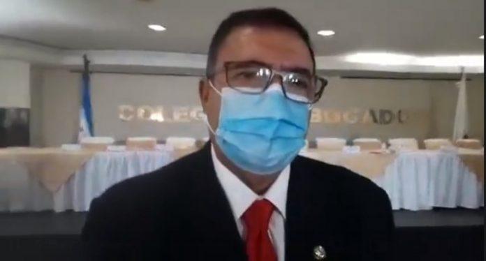 Fredis Cerrato presidente Colegio de Abogados