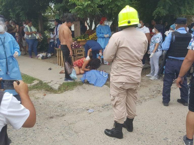 ¡Desgarradora escena! Niño de 4 años muere atropellado en Quimistán