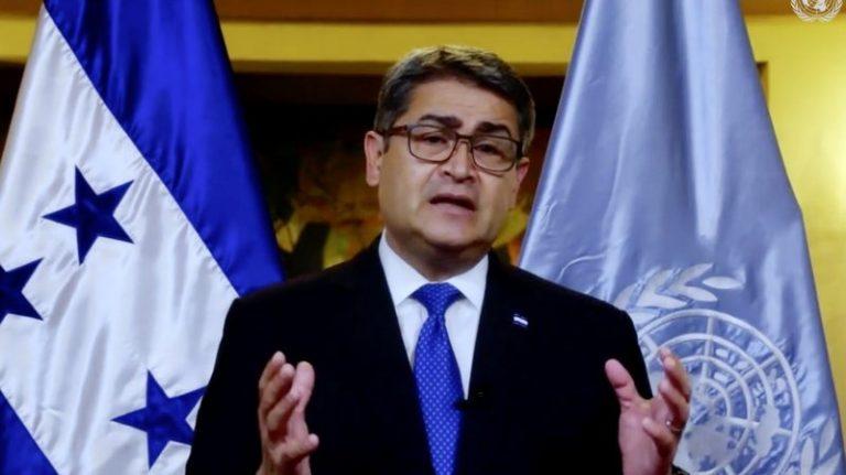 JOH ante la ONU: Honduras enfrentó estructuras criminales y redujo muertes violentas