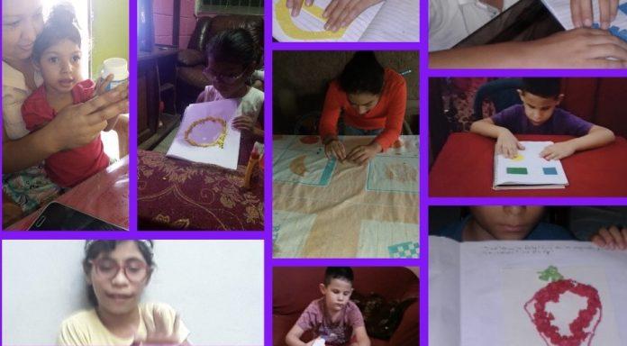 Escuela Luis Braille niños